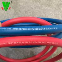 Buy cheap 20 years production experience 20 bar red and blue color twin welding hose product
