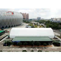 Buy cheap Aluminum Frame Sport Event Tent For Badminton Court Water Proof PVC Sidewall product