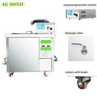 Buy cheap 28khz DPF Dirty Diesel Particulate Ultrasonic Filter Cleaning Machine 360 liters with 9KW Heating product