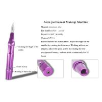 Buy cheap Pink Permanent Makeup Tattoo Kit Wireless Eyebrow Makeup Pen Battery Operated product