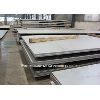 Buy cheap DIN 1.4301 2B Finish Hot Rolled Stainless Steel Sheet Thickness 3mm - 50mm product