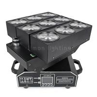 Buy cheap Individual Control 9x10W RGBW 4in1 Cree LED Moving Head Deformation Matrix Beam Light product