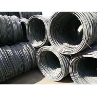 Buy cheap SAE1008 Hot Rolled Steel Galvanized Wire Rope / Wire Rod Diameter 6.5mm For Concrete product