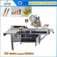 Buy cheap Vial Sticker Labeling Machine Gel polish and nail polish stcikers product