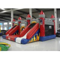 Buy cheap New Inflatable volcano bouncy castle full printing inflatable jumping castle combo beautiful color inflatable jump product