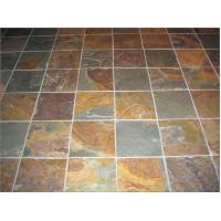Outdoor slate floor tile cheap slate tile rusty slate tiles china manufacture lowest price black - Inexpensive deck tiles ...