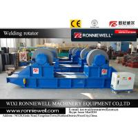 China Automatic PU Roller Conventional Welding Rotator Oil Tank , Wind Tower on sale