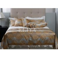 Buy cheap Full Size Hotel Bed Sheets Set Flower Printing Bed Cover for Luxury Hotel Or Home Use product