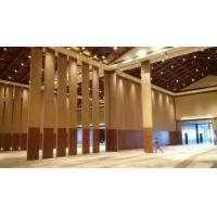 Buy cheap Soundproof Room Divider Partition Wall Wood Veneer Finish Hinged Panel Large Size product