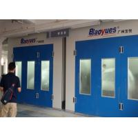 China Body Shop Spray Painting Booth Full Grilles 50Mm Thickness Wall Panel on sale