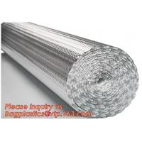 Buy cheap Aluminum Bubble Foil Heat Reflective Insulation Sheets for roof floor an dwall,epe Foam Insulation Material Sheet /Fire product