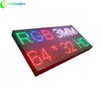 Buy cheap Hs Code LED Display Module 32x64dots , P3 LED Module Test 72hrs Before Sending product