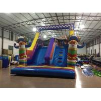 Buy cheap Classic Inflatanle Indian Obstacle Course Two Parts Inflatable Obstacle Course Outdoor Inflatable Sport Games For Sale product