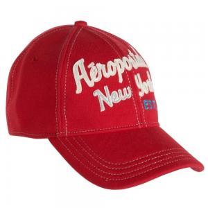 Buy cheap 通気性の赤い綿のMonogrammed平たい箱によって刺繍される野球帽56cm - 60cm product