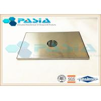 China 10 Mm Thick Honeycomb Sandwich Board For Ceiling Milled Finished Moistureproof on sale