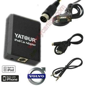 Buy cheap iPod/iPhone car adapter CD interface emulator for Volvo HU403 HU555 HU601 product