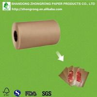 Buy cheap PE coated brown kraft paper roll product