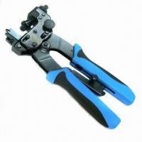 Buy cheap Professional Coaxial Compression Crimping Tool with Blue Handle Color product