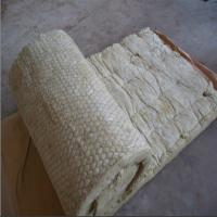 Buy cheap 100kg/m3 rock wool blanket,rock wool roll with GI wire mesh for tank insulation product