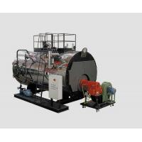 Buy cheap 2 Tons PLC Light / heavy Oil fired Steam Boilers 0.7 Mpa For Hot Press product