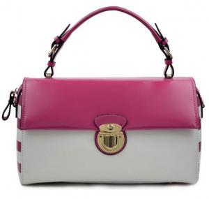 Buy cheap Occupation style leather handbag new fringe PRAD paint leather bag product