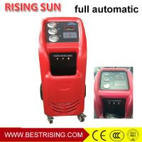 China Garage equipment used R134A recovery recycling equipment for car workshop on sale