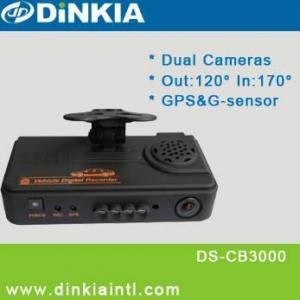 Caixa negra do carro de 2 canais com G-sensor de GPS& (DS-CB3000)