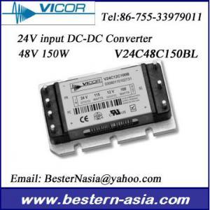 Buy cheap 48V 150Wの電気通信DC-DCのコンバーターへのVicorの電源V24C48C150BL 24V product