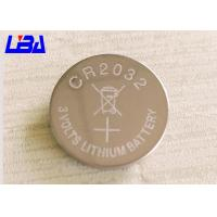 Buy cheap Primary Lithium Cell Battery , 240m Ah Rechargeable Coin Cell Battery 3 Volts product
