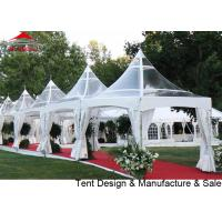 China 10x10' Pagoda Party Tent With Strong Waterproof  Transparent PVC on sale
