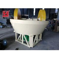 Buy cheap Gold Plant Ore Dressing Equipment Wet Pan Mill Grinder Machine Easy Installation product