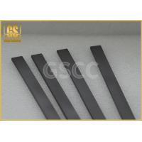 Buy cheap Solid Wood Working Carbide Wear Strips / High Toughness Carbide Square Bar product