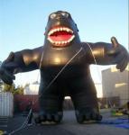 Buy cheap Modelo inflável dos desenhos animados bonitos, chimpanzés infláveis para a propaganda comercial product