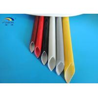 Electric Wires Varnished Silicone Fiberglass Sleeving High Temperature Resistant