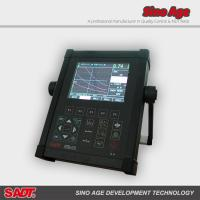 Buy cheap SADT Digital Ultrasonic Flaw Detector SUD10 with DAC, AVG, B scan, AWS function and  Automatic Gain, with metal housing product