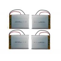 Customized Rc Helicopter Battery / 3.7 V 3000mah Lipo Battery , Long Cycle Life