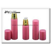 Buy cheap On The Way To The Bottle Injection Section In The Pink Gold Plating Airless Dispenser Bottles product