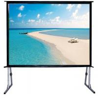 """Buy cheap 120"""" Fast Fold Projector Screen With Flight Case / Outdoor Rear Projector Fabric Stand product"""