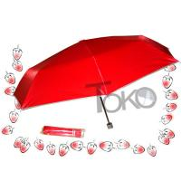 Buy cheap UV Protection Manual Open Umbrella , Two Person 3 Fold UmbrellaSturdy Frame product