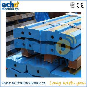 China white iron stone crusher wear parts Kleemann MR130 EVO bow bar, impactor bar, hammer on sale
