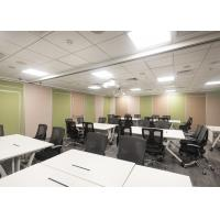 Buy cheap Tall  Acoustic Portable Wall Partitions Telescopic Sleeve Panel High Performance product