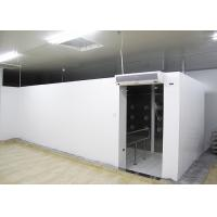 Buy cheap 90 Degree Turn Personnel Air Shower Tunnel  ,  Clean Room Equipments With Painted Steel Material product