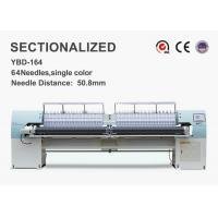 High Speed Sectionalized Embroidery Quilt Making Equipment250mm X Area