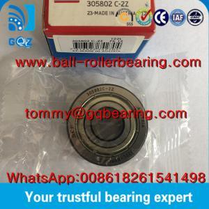 China P0 Precision Metal Shielded SKF 305802C-2Z Yoke type Track Roller Bearing wholesale