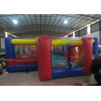 Buy cheap Excieting Inflatable Soccer Court pitch Playground Safe Nontoxic PVC Inflatable Football Stadium product