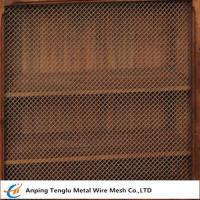 Buy cheap Wire Mesh Grille Inserts  Press Crimp Weave by Cold Rolled Steel from wholesalers