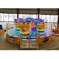 Anti Corrosion Paint Kiddie Amusement Rides Customized Color 1 Year Warranty