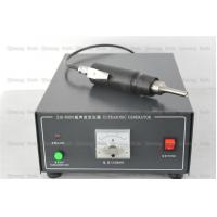 China 35Khz Riveting Ultrasonic Plastic Welding Machine Pistol Type , Portable Ultrasonic Welder  For Cloth Spot on sale