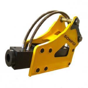 Buy cheap New wheel excavator attachment sooson drill machine hydraulic hammer rock breaker price product