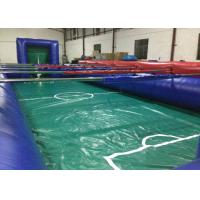 Buy cheap Huge Colourful Inflatable Football Games adult inflatable table football game for outdoor games product